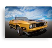 Mustang Convertible Canvas Print