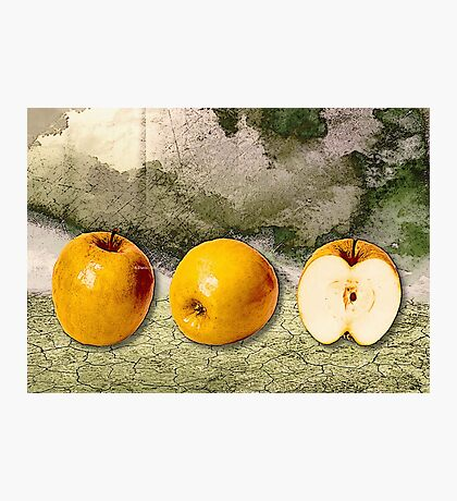 Three Apples! Photographic Print