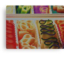 ribbon candy Canvas Print