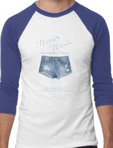 Never Nude Awareness Month - Arrested Development Men's Baseball ¾ T-Shirt