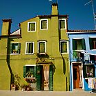 Burano IV by Louise Fahy