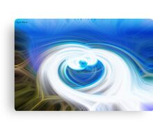 Abstract Agnes Waters Canvas Print