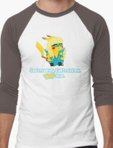 Pokeface Men's Baseball ¾ T-Shirt