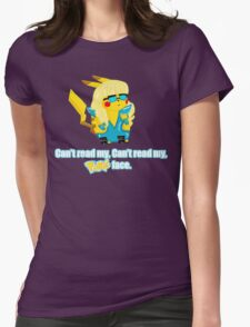 Pokeface Womens Fitted T-Shirt