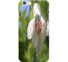 When a Magnolia flowers - JUSTART © iPhone Case/Skin
