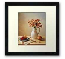 Lilies and Apples Framed Print