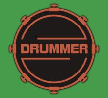Orange Drummer Kids Clothes