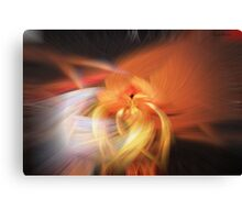 Abstract Candlelight Canvas Print