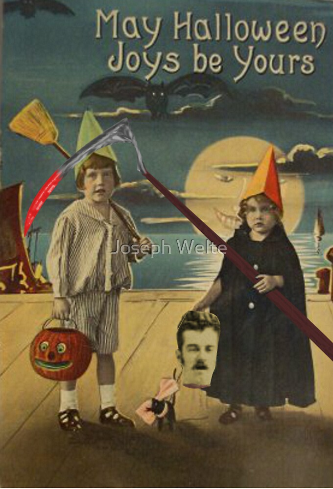 Halloween Card of Horror  by Welte Arts & Trumpery