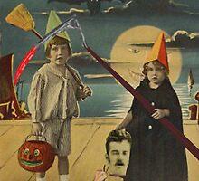 Halloween Card of Horror  by Joseph Welte