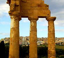 Agrigento Then and Now by Lesliebc