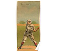 Benjamin K Edwards Collection Tris Speaker Earl Gardner Boston Red Sox baseball card portrait Poster