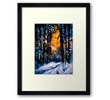 It Has Come... Framed Print