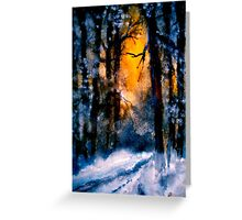 It Has Come... Greeting Card
