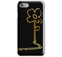 Banksy's wall flower iPhone Case/Skin