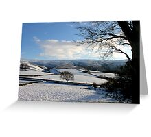 It's Cold in them thar hills! Greeting Card