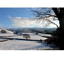 It's Cold in them thar hills! Photographic Print
