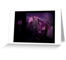 March Fairy Greeting Card