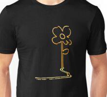 Banksy's wall flower Unisex T-Shirt