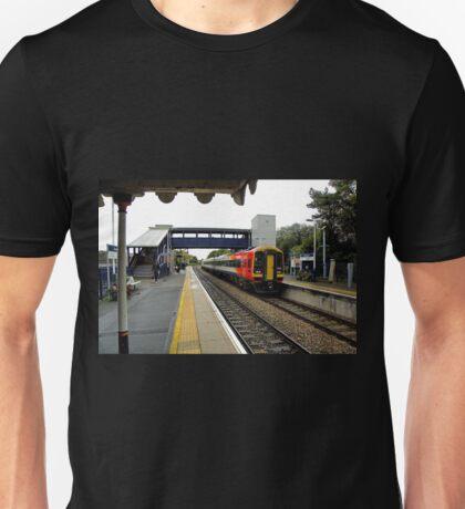 Axminster Railway Station. Devon UK Unisex T-Shirt