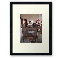 Old Stove Framed Print