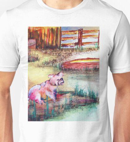 FARM PIGGY Unisex T-Shirt