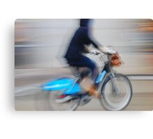 Boris Bikes ( Blurred Series) Canvas Print