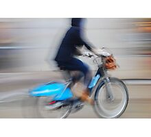 Boris Bikes ( Blurred Series) Photographic Print