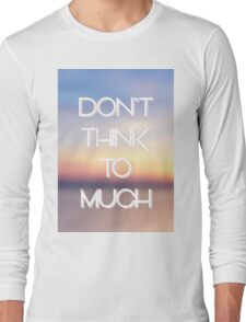 hipster background Long Sleeve T-Shirt