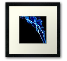 Smoke Photography. Framed Print