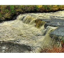 Middle Falls Aysgarth - HDR Photographic Print
