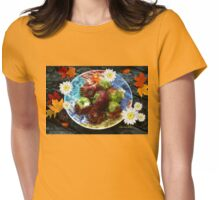 Fall Is the Season for Apples Womens Fitted T-Shirt