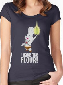 I HAVE THE FLOUR Women's Fitted Scoop T-Shirt