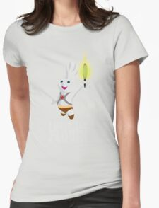 I HAVE THE FLOUR Womens Fitted T-Shirt