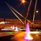 Footbridge, Newport by Ciaran Sidwell