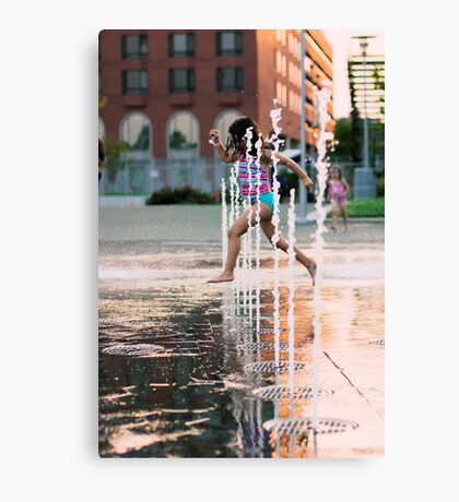 The Child in Us Canvas Print