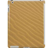 golden sand texture iPad Case/Skin