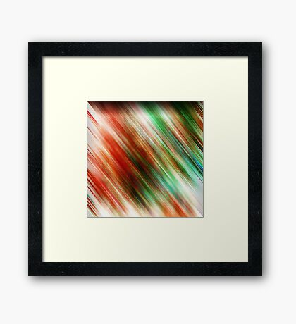 Equivalence Framed Print