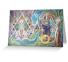 Igniting The Goddess Greeting Card