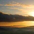Cloud Bank, Sunset from Mam Tor by Mark Smitham