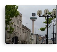 Radio City Radio Station Tower - Liverpool Canvas Print