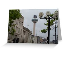 Radio City Radio Station Tower - Liverpool Greeting Card