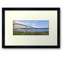 Orwell Bridge Suffolk Framed Print