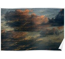 Oceanic Clouds Poster