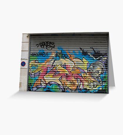 Graffiti Greeting Card