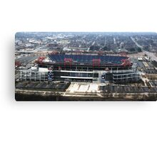 LP Stadium Nashville TN - From The Roof of VIRIDIAN 2012 Canvas Print