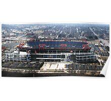 LP Stadium Nashville TN - From The Roof of VIRIDIAN 2012 Poster