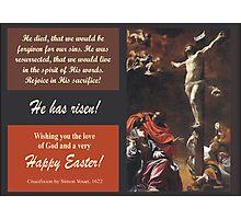 "Simon Vouet's ""Crucifixion"" of Jesus, 1622 Photographic Print"