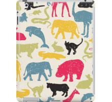Retro animals. iPad Case/Skin