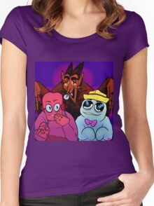 monster cereal Women's Fitted Scoop T-Shirt